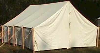 STANDARD WALL TENT & Blockade Runner Civil War Sutler Suttlery Page 31 Tents and tent ...